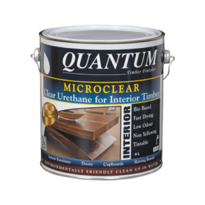 Microclear Clear Urethane for Interior Timber